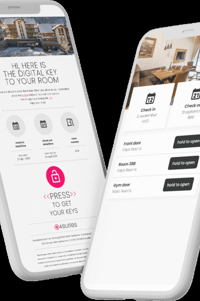 Mobile keys for your hotel