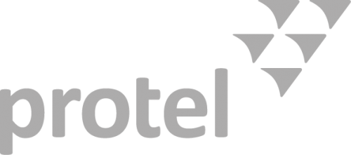 Protel logo grey
