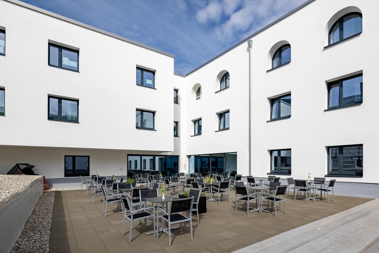 MK Hotels Passau terrace